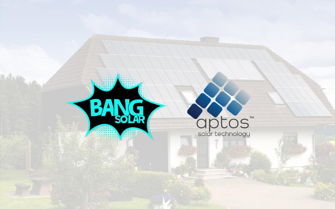 Bang Solar and Aptos Solar Partner to Revolutionize the Solar Industry