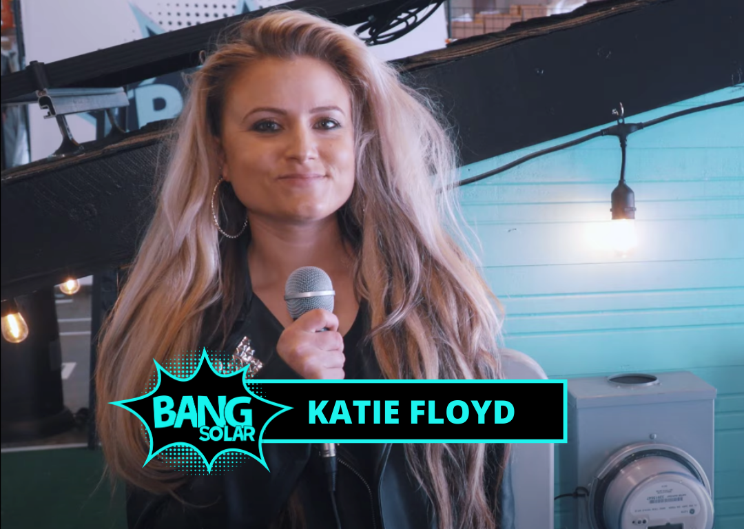 Blog Post Image: Katie Floyd the new face of Bang Solar