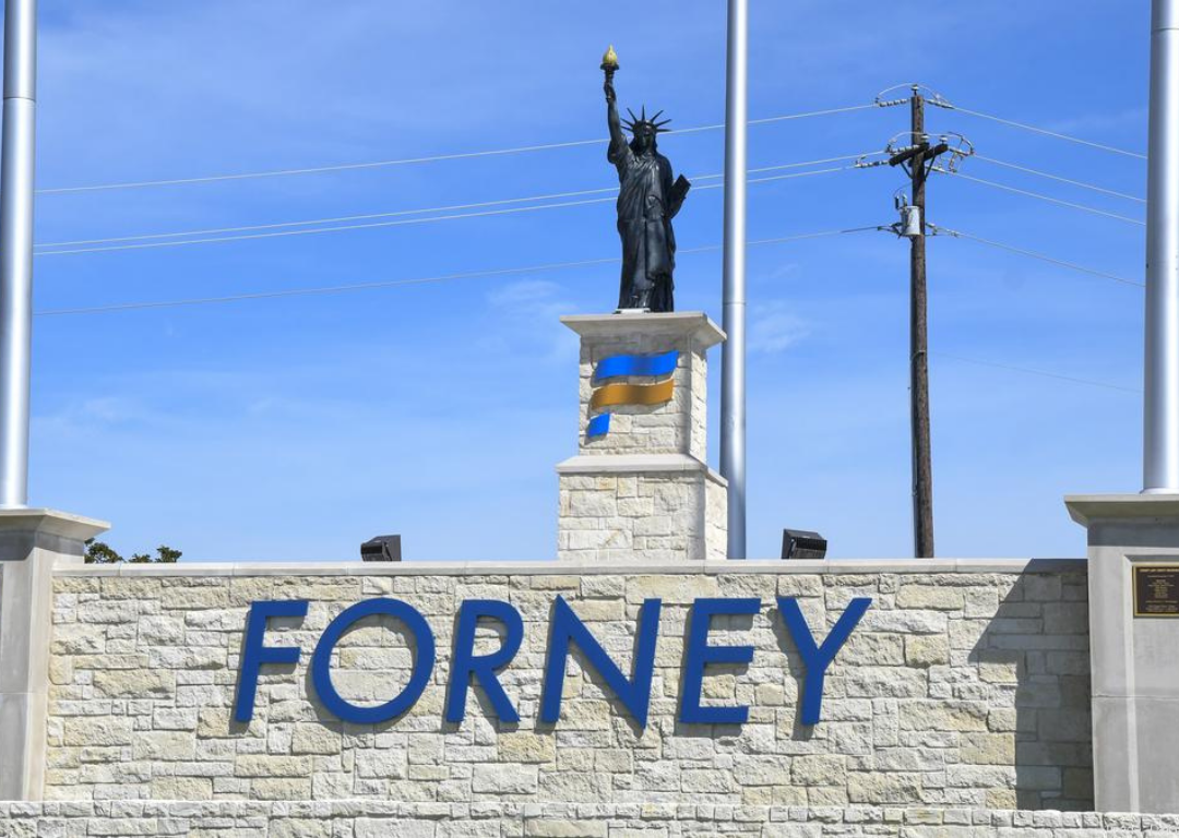Forney Liberty Statue